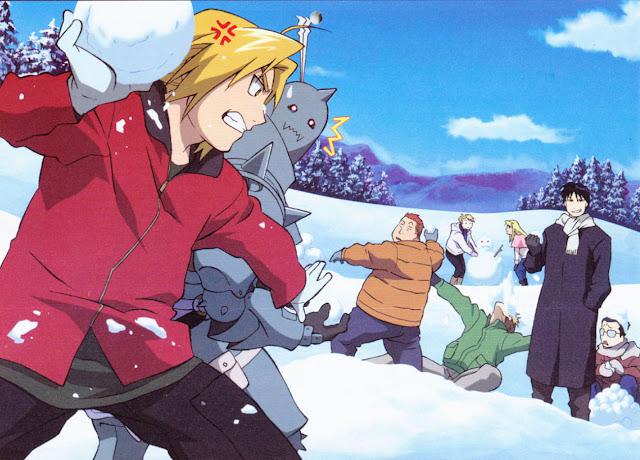 Fullmetal alchemist Holidays Wallpaper 0002