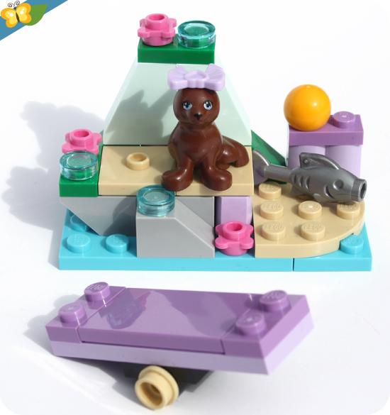 LEGO® Friends Animaux - Série 6 - Le petit rocher du phoque