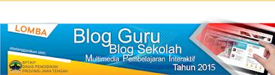 Lomba Blog Guru, MPI dan Web Sekolah 2015