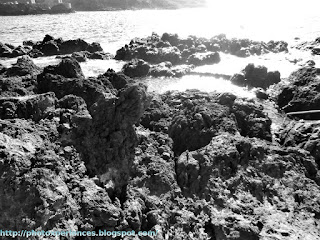 Coladas de lava en la costa de Garachico - Lava flows on the coast of Garachico