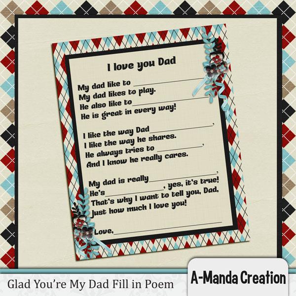Aw dad dad poem jpg
