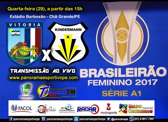 Nesta Quarta-feira, às 15h. Ao vivo pela Web Rádio Panorama Esportivo PE