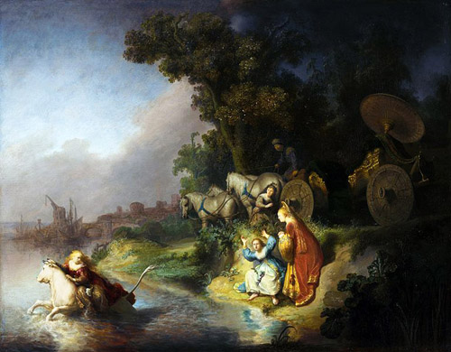 Rembrandt s Abduction of Europa Europe Bull Zeus Taurus the Bull myth Zodiac magical recipes online
