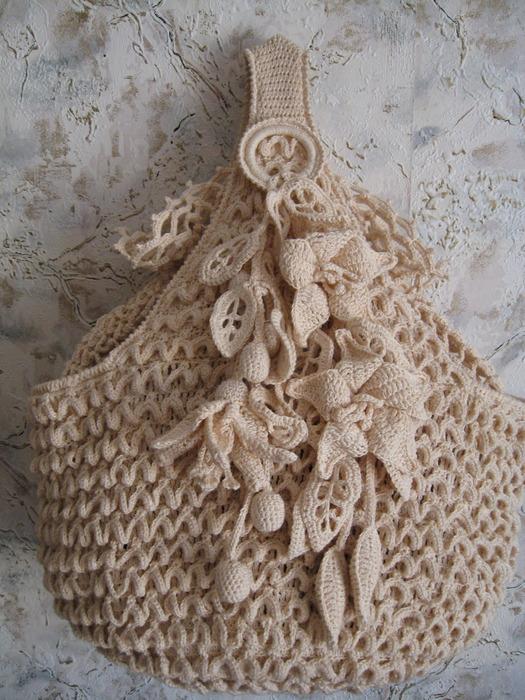 MOSSITA BELLA PATRONES Y GRÁFICOS CROCHET : Bolsa a Crochet