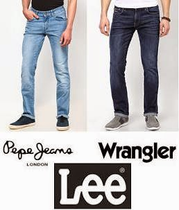 Men's Jeans: Extra 32% Off on Pepe Jeans, Wrangler, Lee Jeans