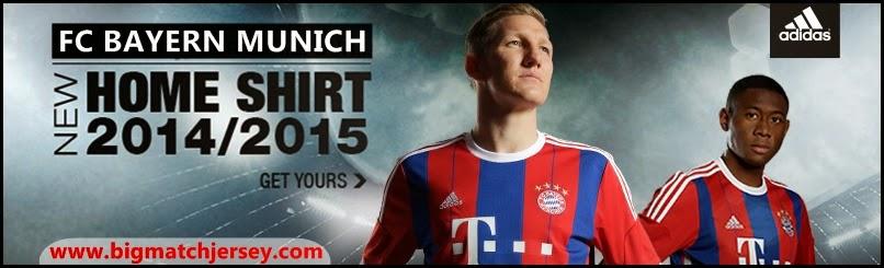 Jersey Terbaru Bayern Munich Musim 2014-2015