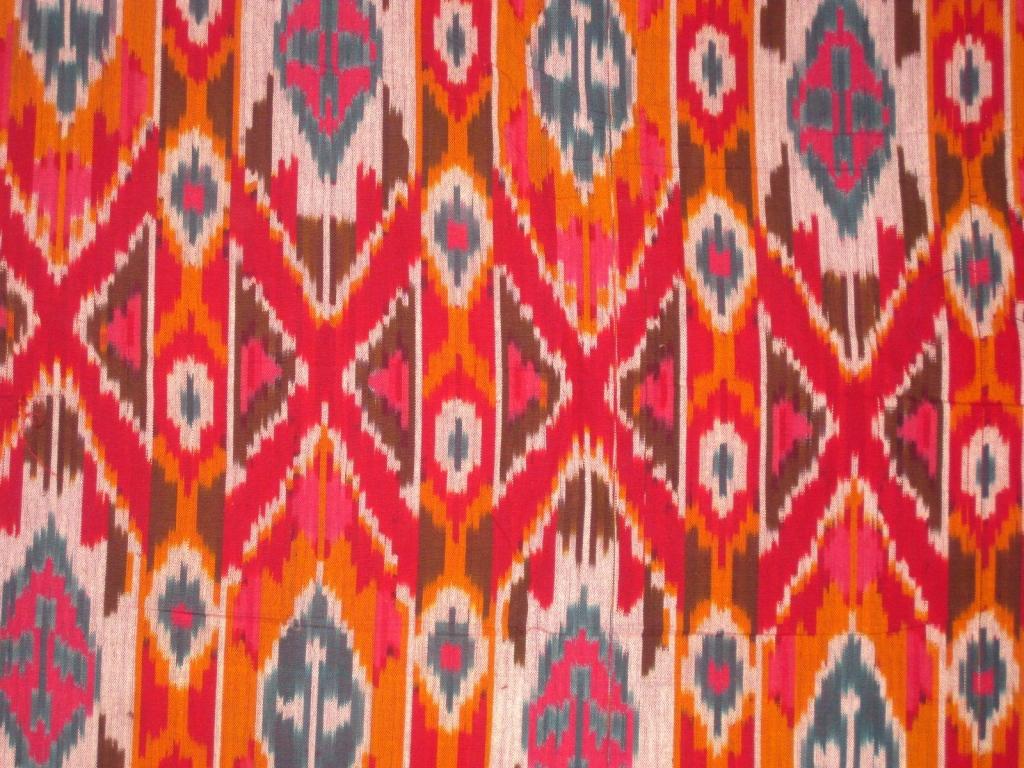 Flyer Goodness: Ikat Textile Patterns
