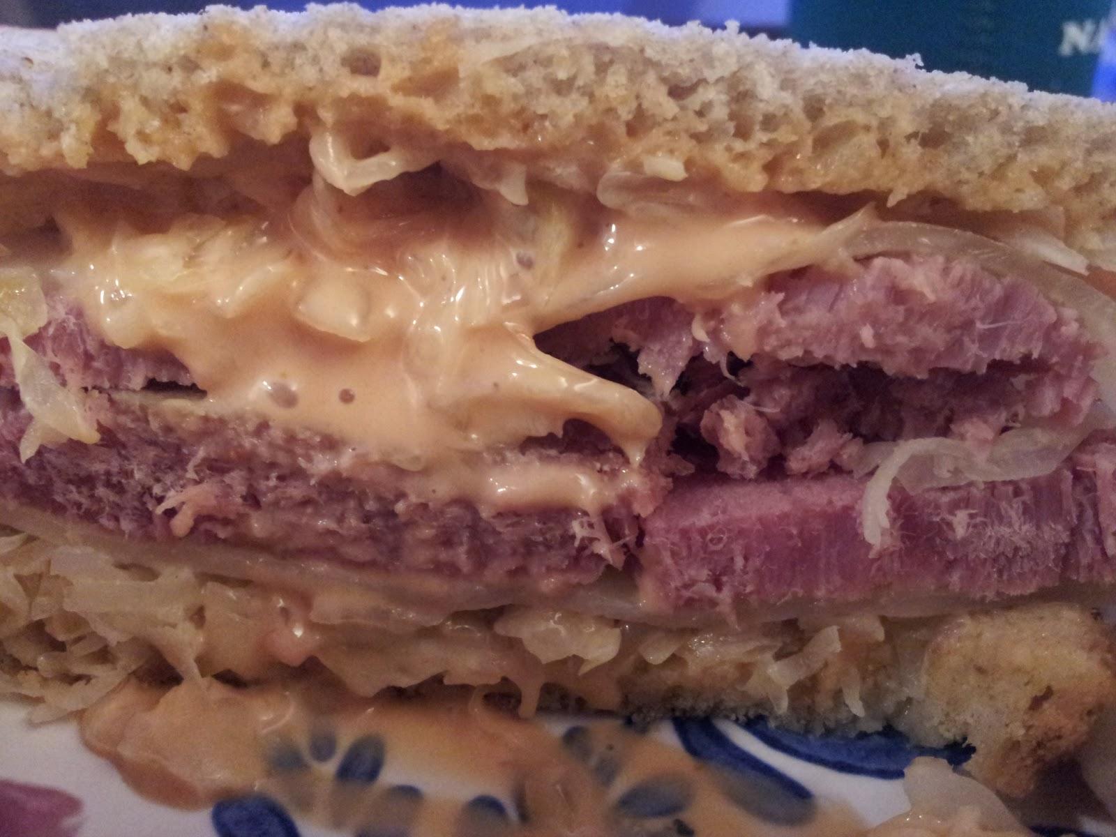 RAPTOR SHARK: Slow Cooker Corned Beef / Reuben Sandwiches