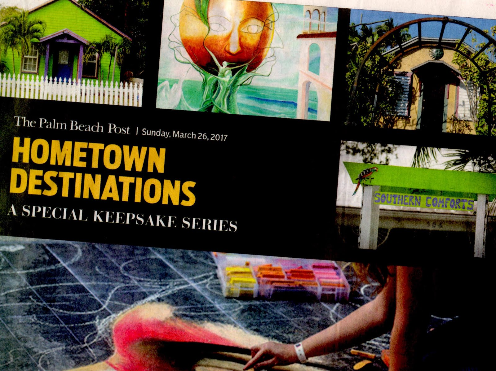 "Now 166 days & count- ing. Click ""Hometown Destinations"" keepsake."