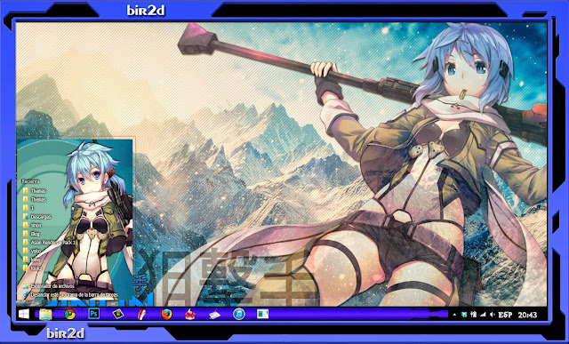 Asada Sinon [ Theme Win 8 ] 4