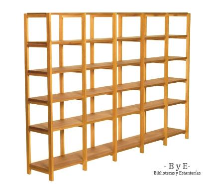 Bibliotecas y estanterias - Estanterias pequenas de madera ...