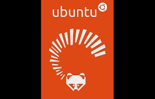 Ubuntu 13.04 raring ringtail logo