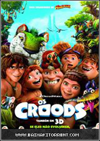 Capa Baixar Filme Os Croods (The Croods) Dublado   BDRip AVi   Torrent Baixaki Download