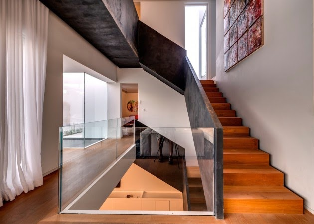 Casa cubos arquitectura minimalista nestor sandbank - Maison wooden concrete nestor sandbank ...