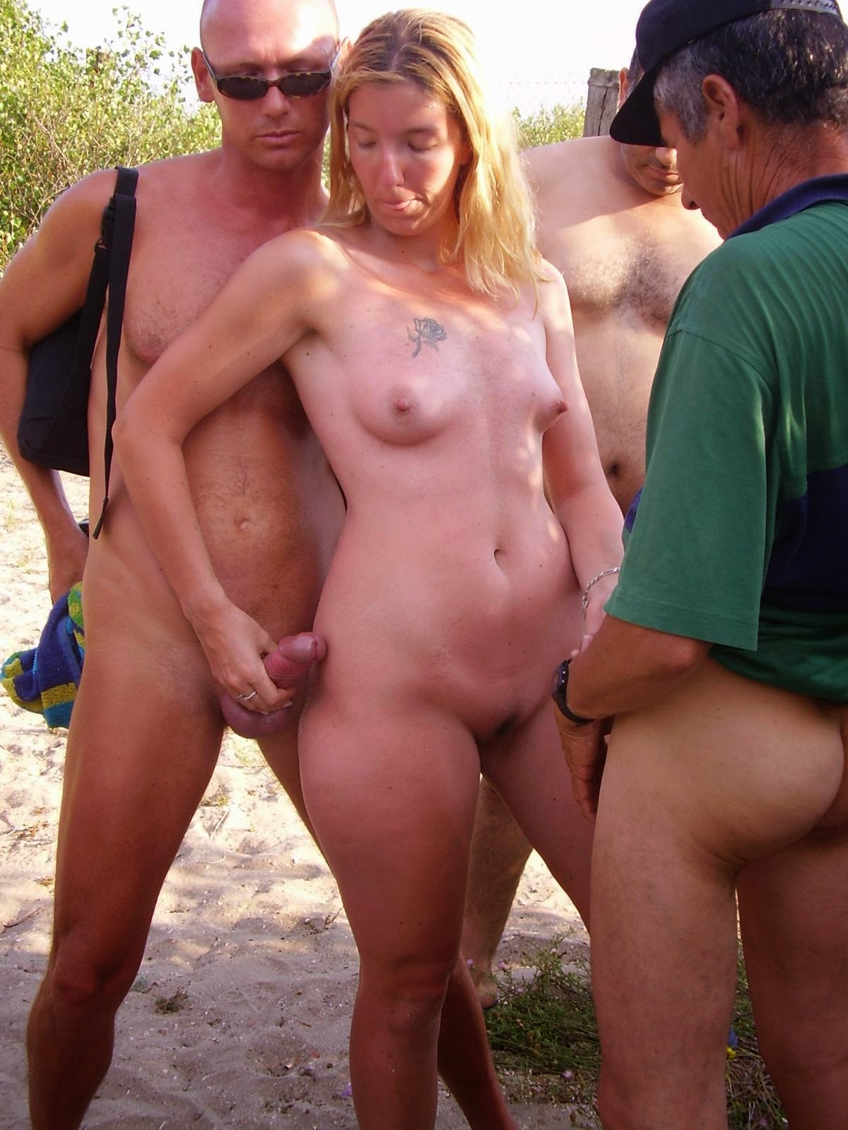 nude beach naughty