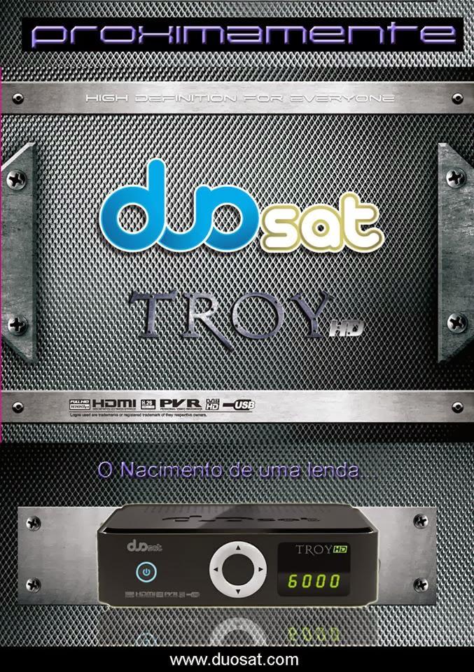 DUOSAT TROY HD NOVA ATUALIZAÇÃO - V 1.54 - 17/01/2014
