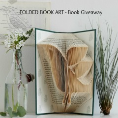 Click photo to enter to win a copy of Folded Book Art - 2 US and UK Winners/Ends 4/1