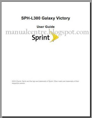 Samsung Galaxy Victory 4G LTE manual cover