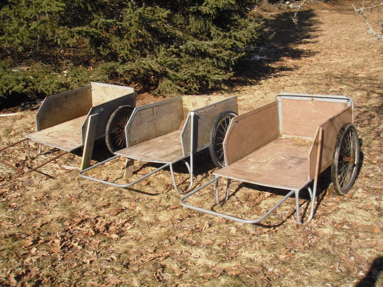 Gardening The Hard Way: Garden Carts