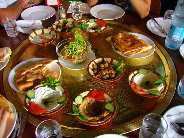 meze antipasti turchi