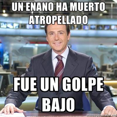 Meme de humor: Matías Prats (II)