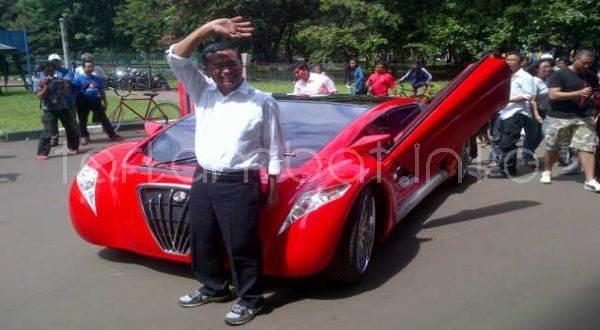 Dahlan Iskan Dan Mobil Listrik Mewahnya TUCUXI Ferrari