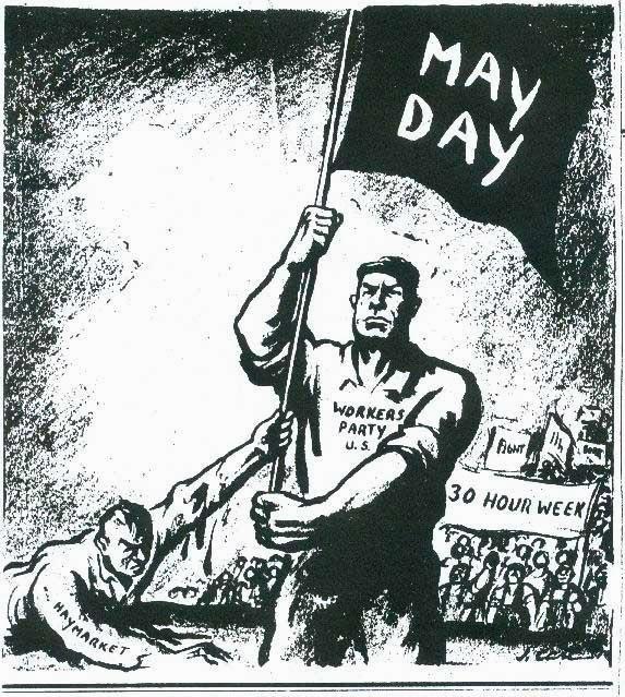 Demonstrasi Kaum Buruh Di Amerika Serikat Pada Tahun 1886 Yang