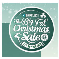 Shopclues The Big Fat Christmas Sale : Get Rs 50 Cluebucks Free