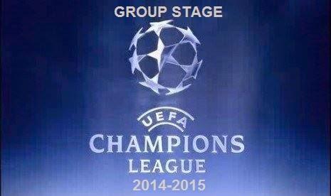 Jadwal Babak Penyisihan Group Liga Champions 2014-2015