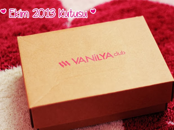 Vanilya Club Ekim 2013 Kutusu