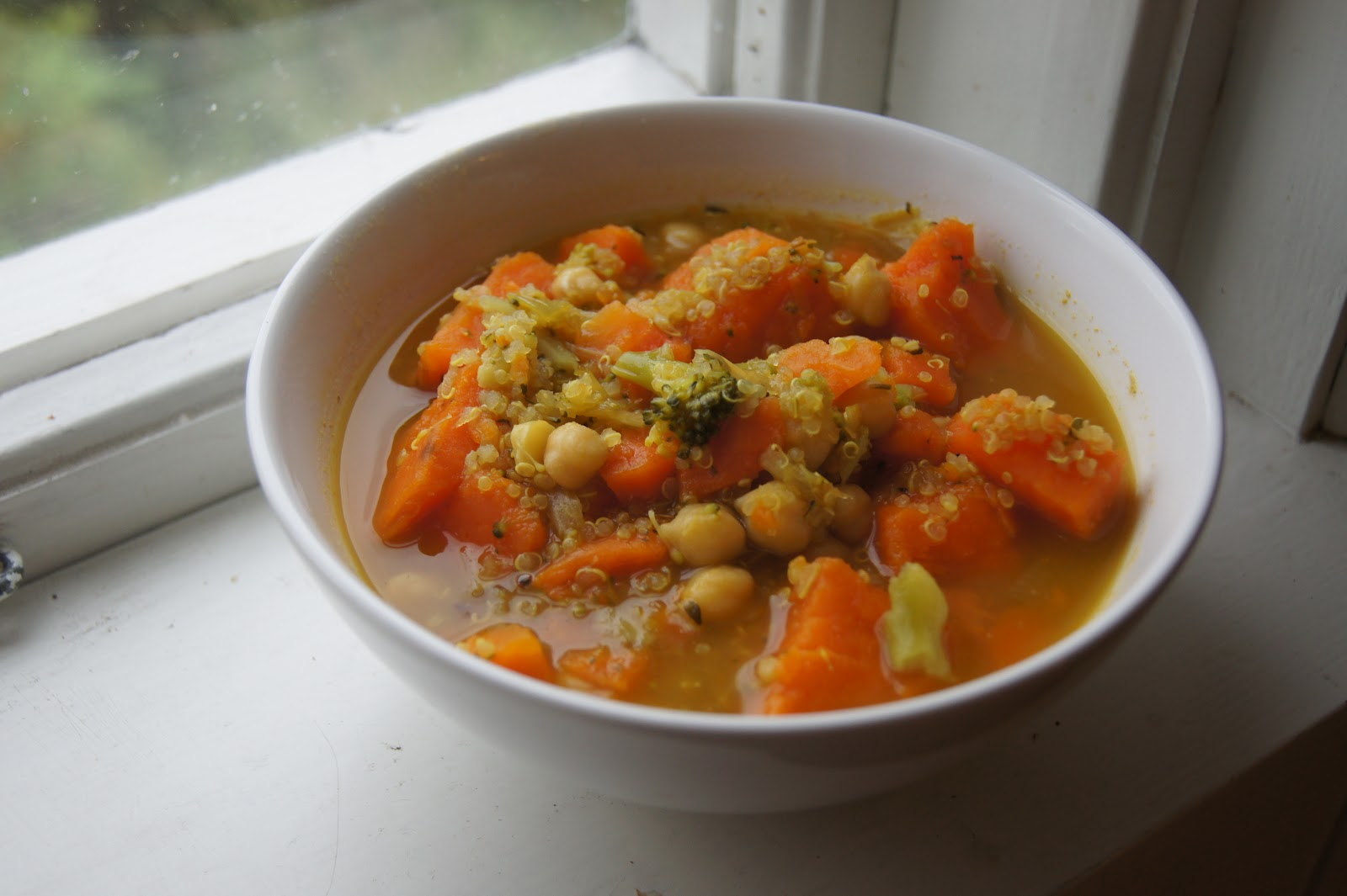 Quinoa, Sweet Potato and Chickpea Stew | Gluten-Free-Vegan-Girl