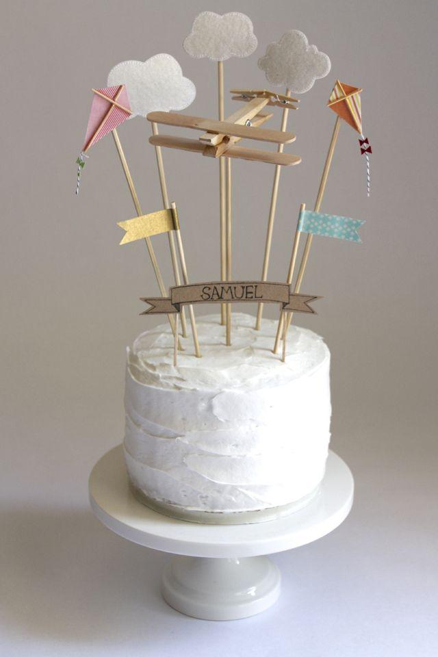 Украшения для торта на палочках своими руками