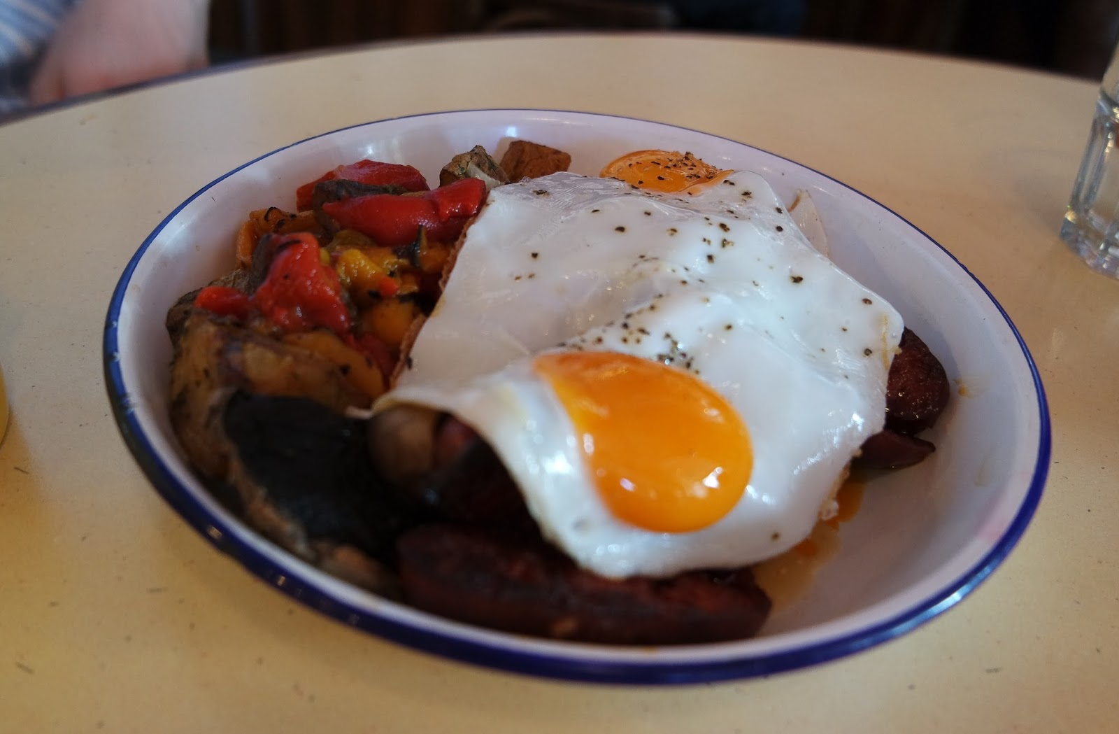 The Breakfast Club - London Bridge Review Chorizo Hashbrowns