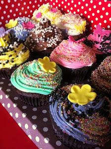 Karnaval Tadında Cupcakeler