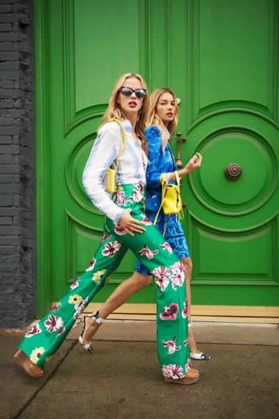 2013 %C3%87i%C3%A7ekli Pantolon Modelleri3 2013 Çiçekli elbise modelleri