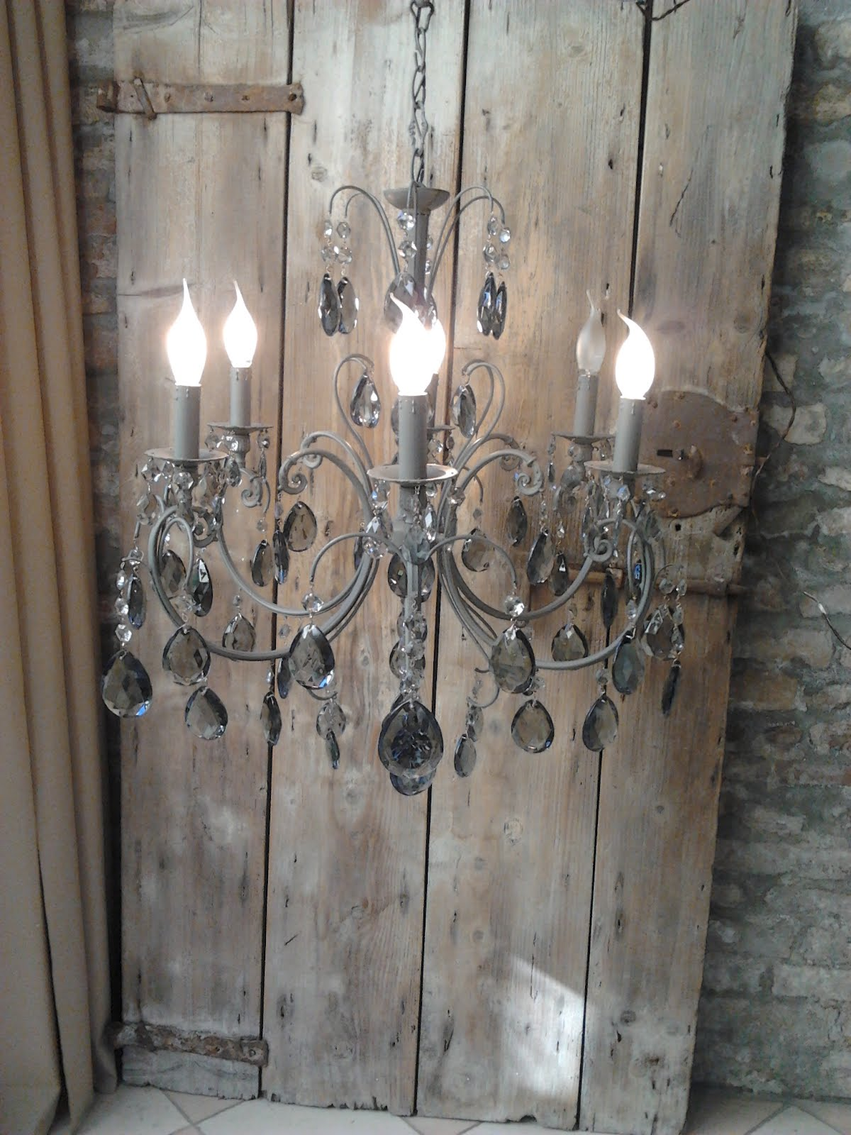 Lampadario gocce lampade Pinterest