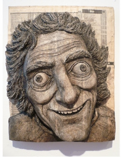 13-Marty-Feldman-Phone-Books-Sculpture-Carving-Cuban-Artist-Alex-Queral-WWW-Designstack-Co