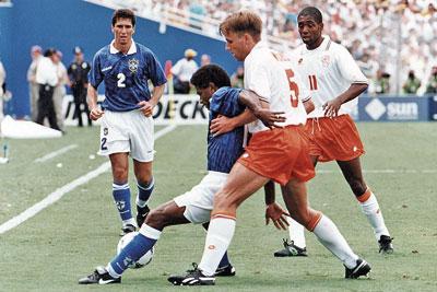 Brazilie Nederland 1994 Brazilië x Nederland