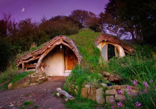 Къщичка на хобити вУелс -Креативен дизайн