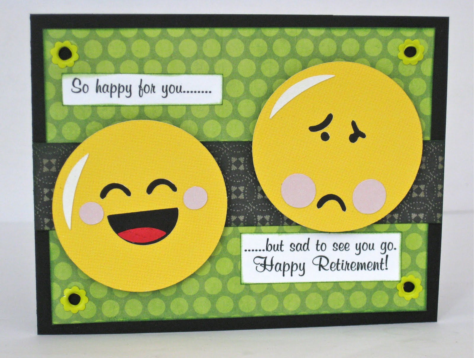 CraftyJAR Creative Designs: Smiley Cards Retirement
