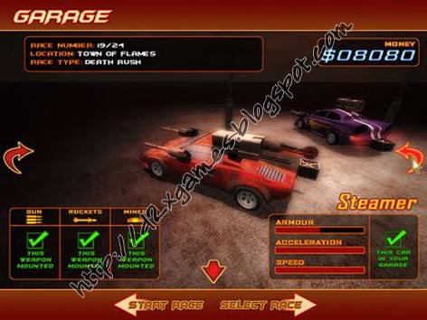 Free Download Games - Deadly Race