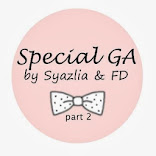 Special Giveaway by Syazlia & FD Part 2