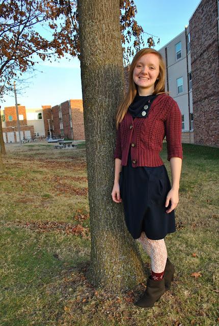 Flashback Summer: Easy Dress- dress and cardigan