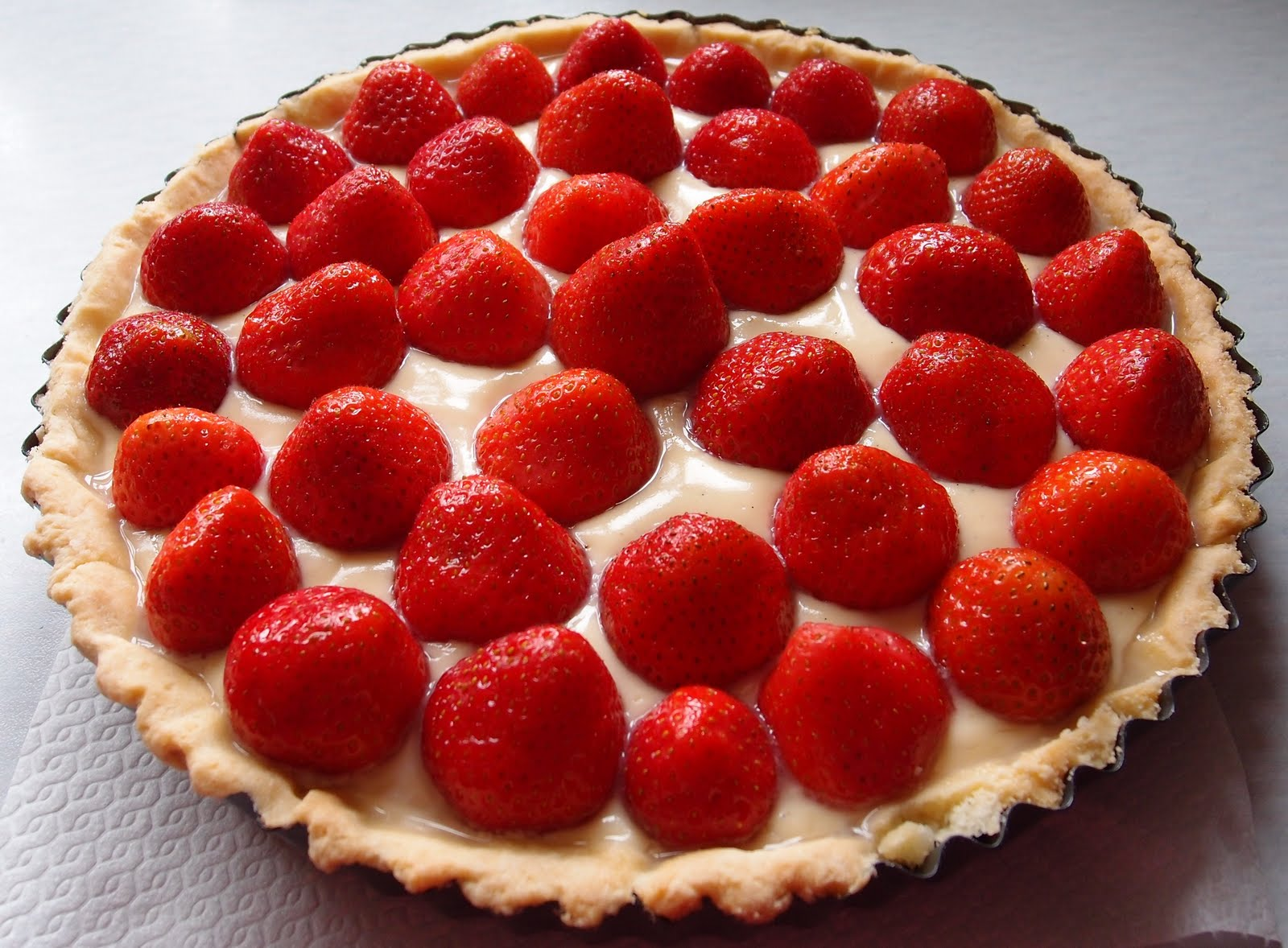 The Caked Crusader: Strawberry tart
