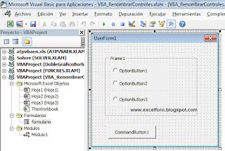 VBA: La Colección Controls de un UserForm.