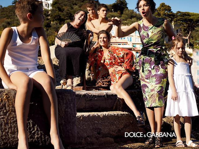 Boutique TRICOT: Campagna Pubblicitaria Dolce Gabbana primavera ...
