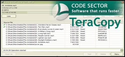 Tera Copy Pro v2.27 + Serial Fullversion