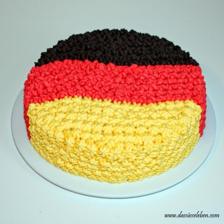 Rezept Deutschland-Torte | Das süße Leben | {Kuchen deutschland 6}