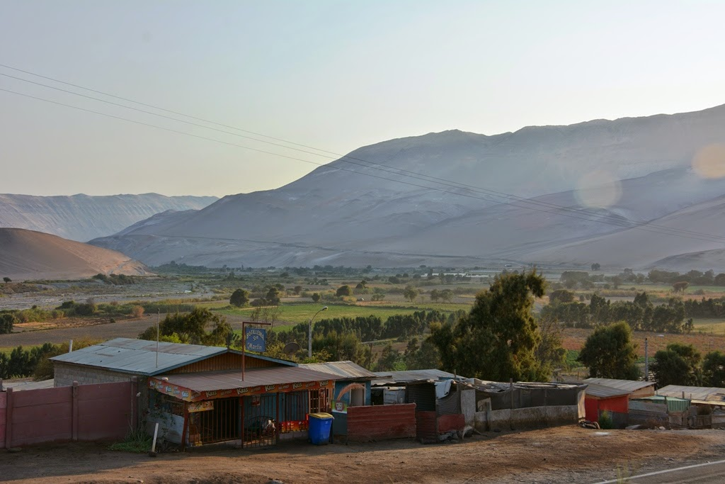 Poconchile village