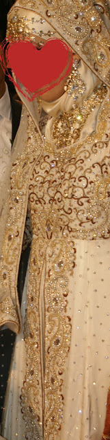 Desi Wedding, Hijabi Bride, Indian Wedding, Hijibai White Gown